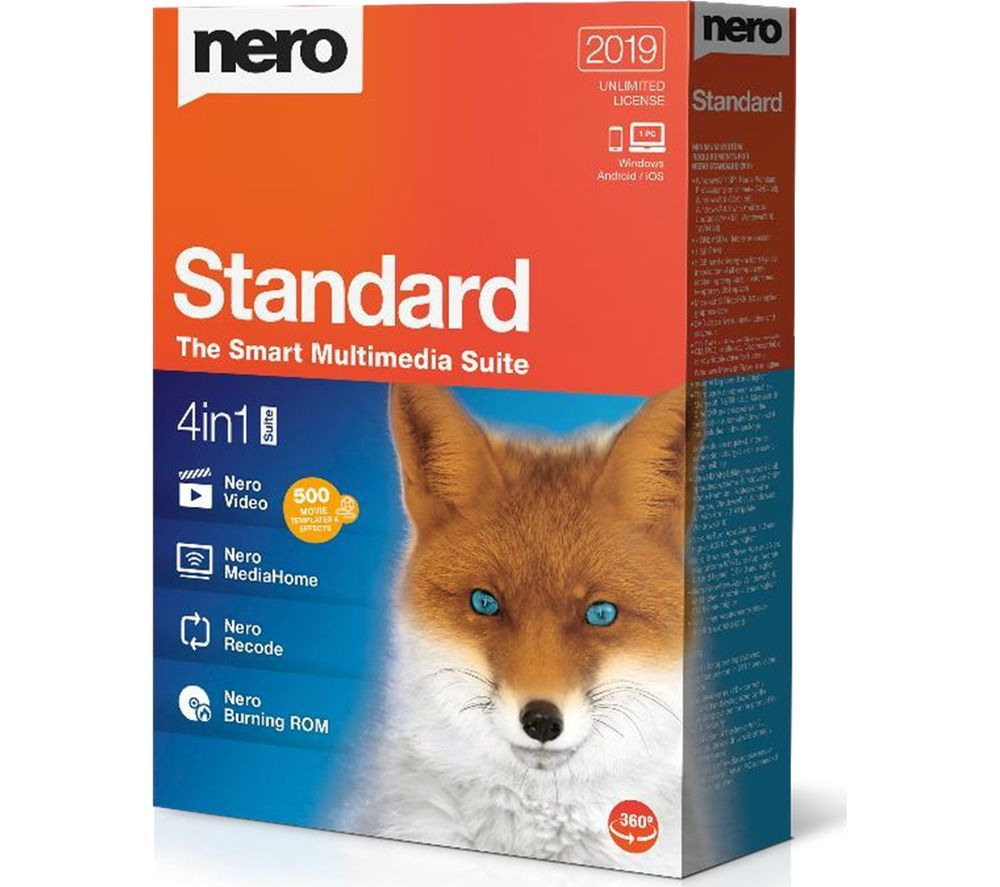 Image of NERO Standard 2019 - Lifetime for 1 device