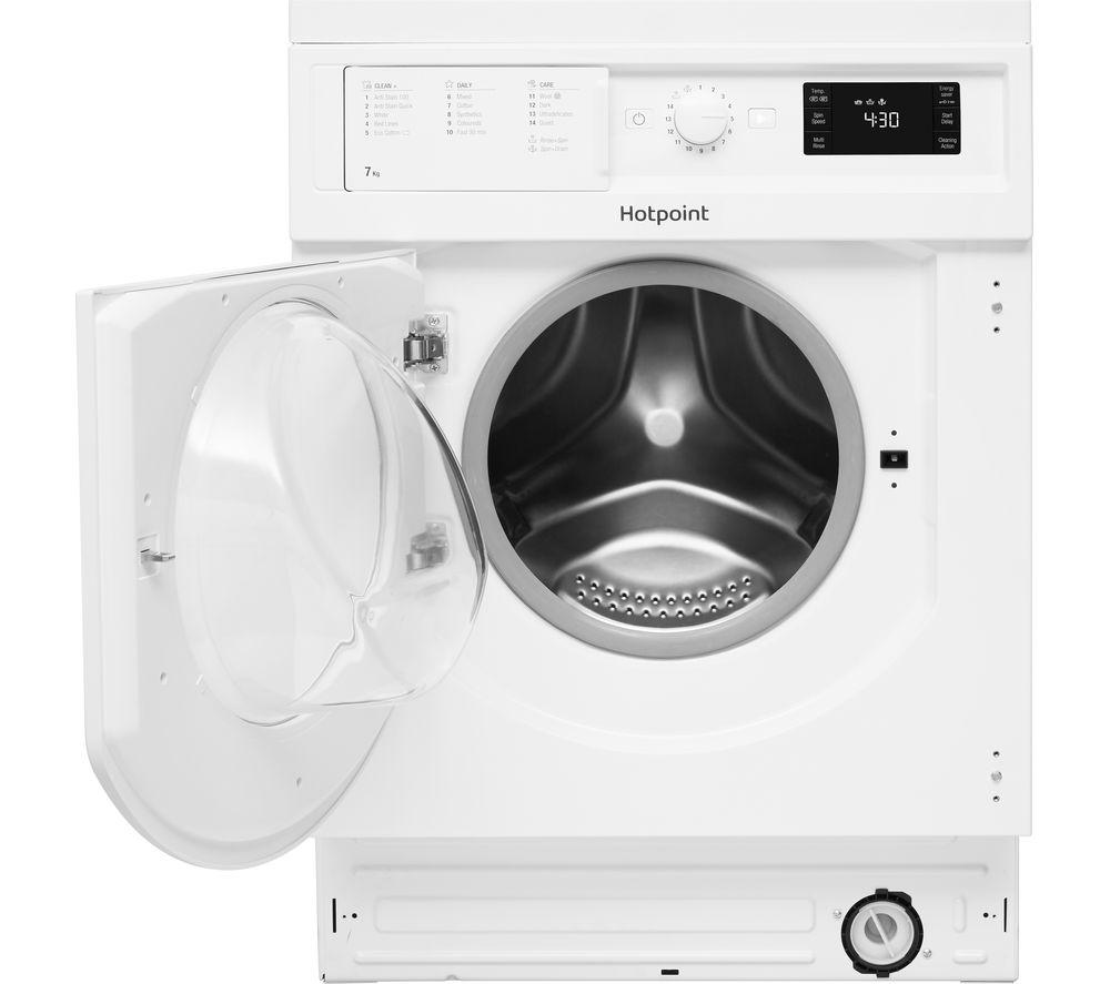 HOTPOINT BI WMHG 71284 UK Integrated 7 kg 1200 Spin Washing Machine