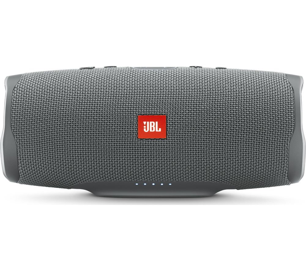 JBL Charge 4 Portable Bluetooth Speaker - Grey, Grey