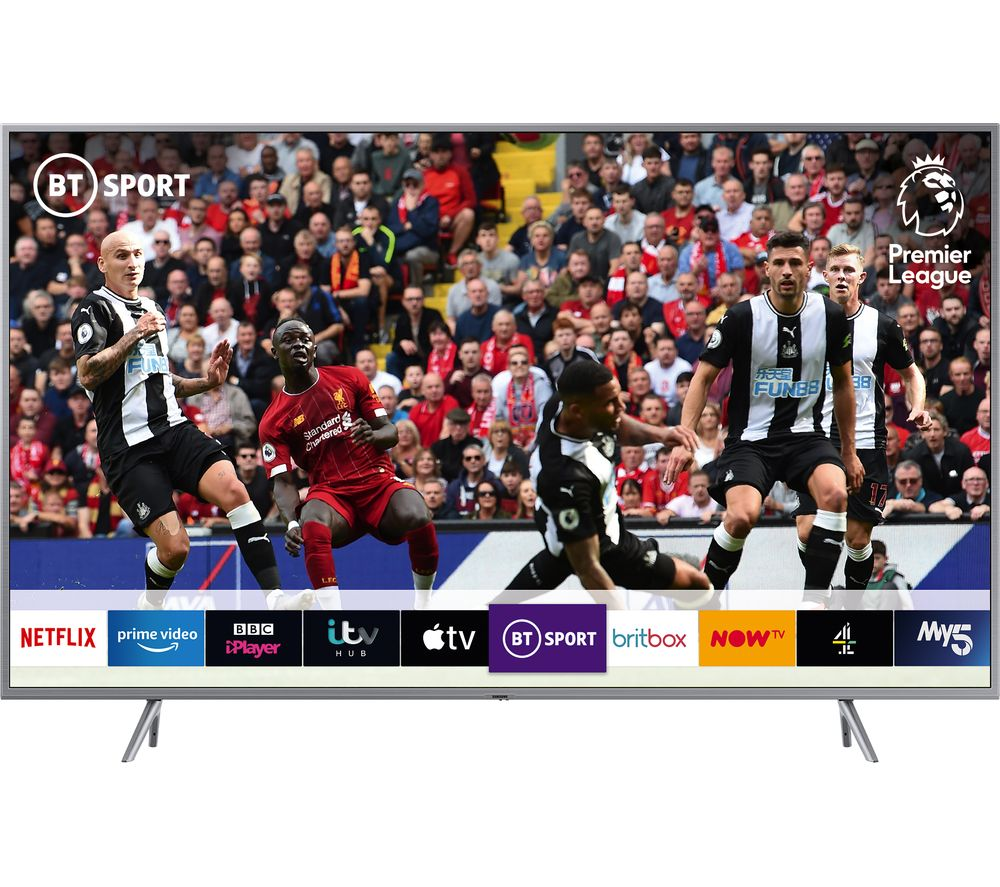 "Image of 49"" SAMSUNG QE49Q67RATXXU Smart 4K Ultra HD HDR QLED TV with Bixby"