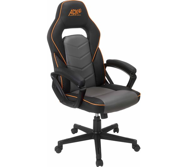 Image of ADX ACHAIR19 Gaming Chair - Black & Grey