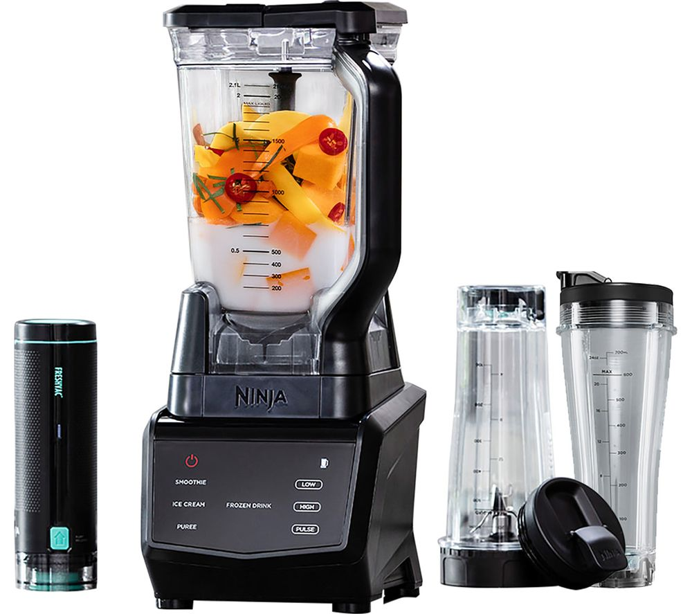 NINJA Smart Screen FreshVac CT660UKV Blender - Black