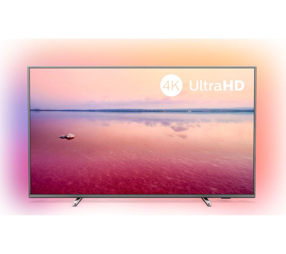"PHILIPS Ambilight 55PUS6754/12 55"" Smart 4K Ultra HD HDR LED TV"