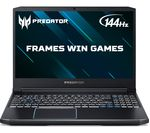 £1299, ACER Predator Helios 300 15.6inch Intel® Core™ i7 GTX 1660 Ti Gaming Laptop - 1 TB HDD & 256 GB SSD, Intel® Core™ i7-9750H Processor, RAM: 8GB / Storage: 1 TB HDD & 256GB SSD, Graphics: NVIDIA GeForce GTX 1660 Ti 6GB, Full HD display / 144 Hz, Battery life:Up to 6 hours,