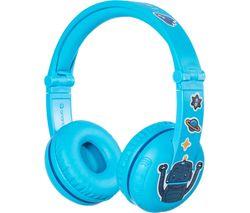 ONANOFF BuddyPhones Play Wireless Bluetooth Kids Headphones - Blue