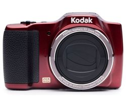 KODAK PIXPRO FZ201 Superzoom Compact Camera - Red