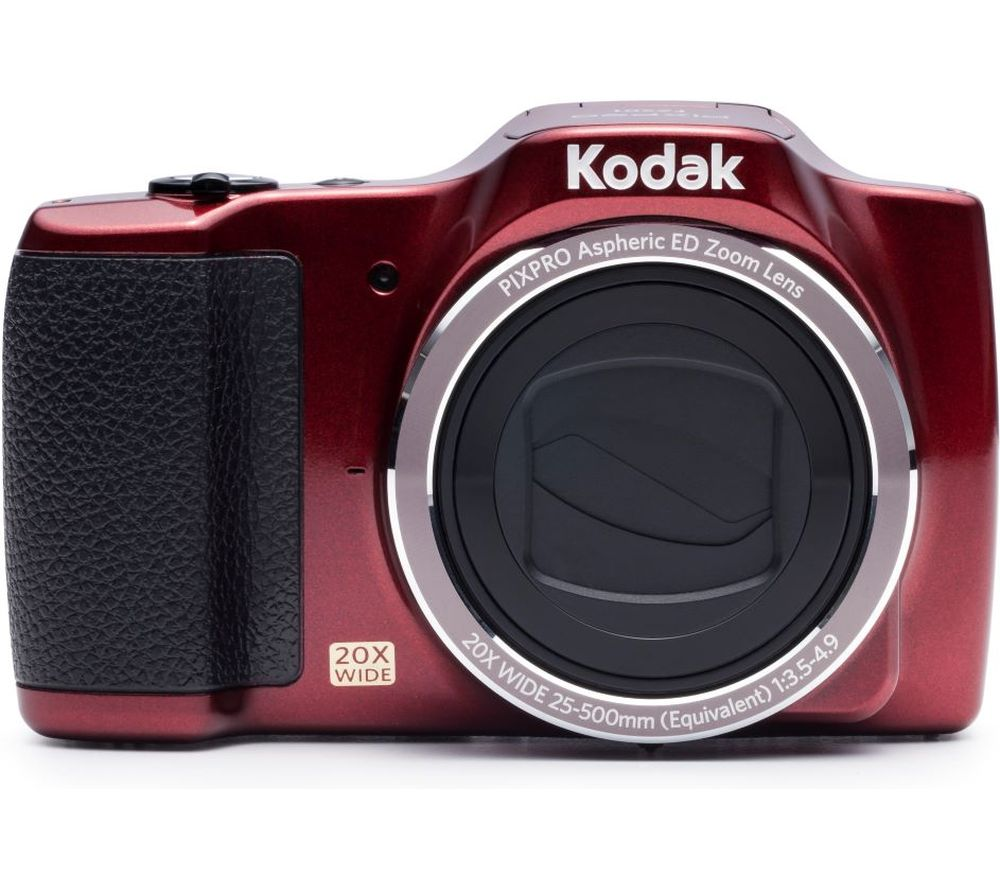 Click to view product details and reviews for Kodak Pixpro Fz201 Superzoom Compact Camera Red Red.