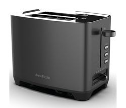 DREW & COLE 2-Slice Toaster - Charcoal
