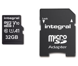 V10 Class 10 microSD Memory Card - 32 GB