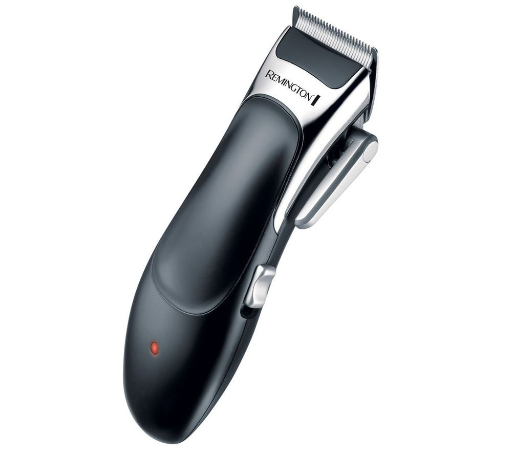 REMINGTON Stylist HC366 Hair Clipper - Silver, Silver