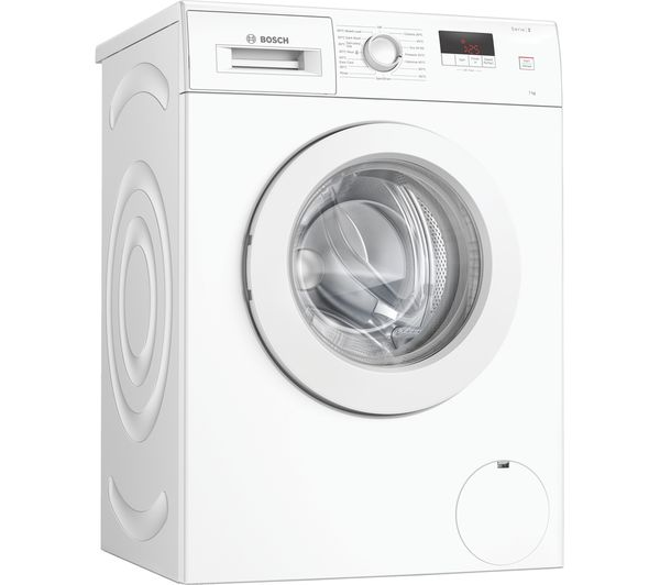 Image of BOSCH Serie 2 WAJ24006GB 7 kg 1200 Spin Washing Machine - White