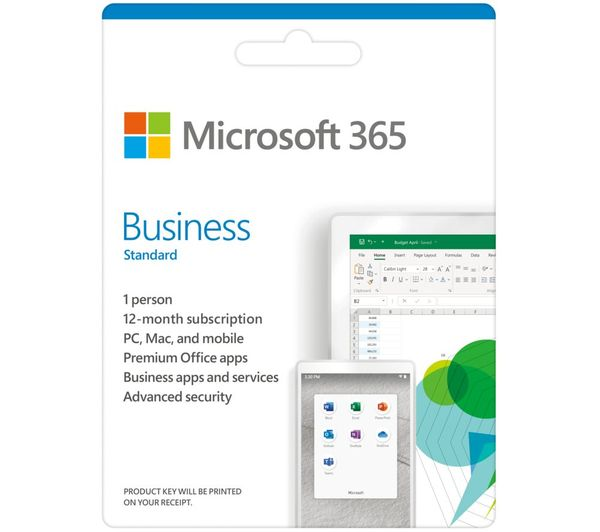 Image of MICROSOFT 365 Business Standard - 1 year for 1 user