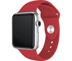 Apple Watch 38 / 40 mm Silicone Strap - Red, Small