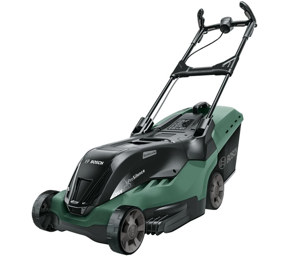 BOSCH AdvancedRotak 36-750 Cordless Rotary Lawn Mower - Green & Black, Green