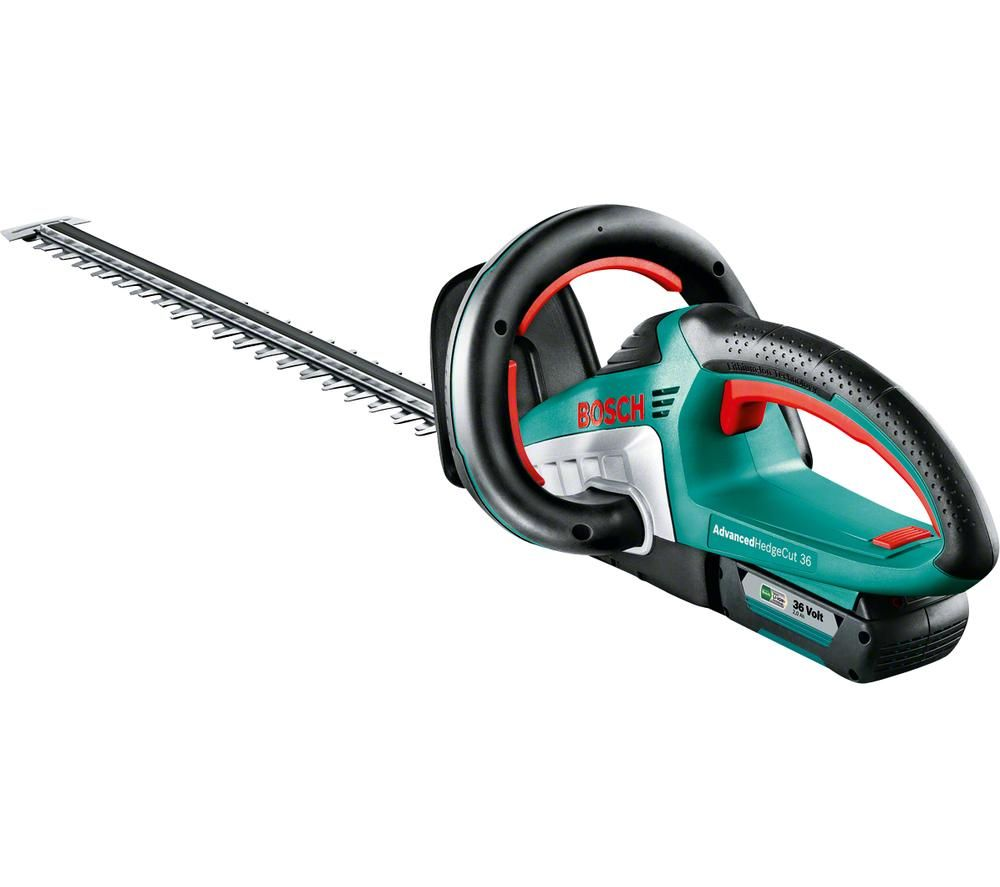BOSCH Advanced HedgeCut 36 Cordless Hedge Trimmer - Green & Black, Green