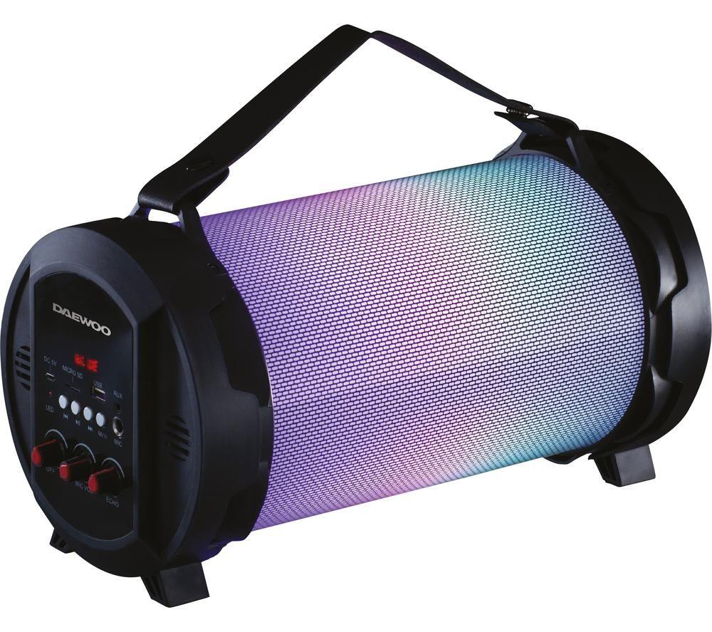DAEWOO AVS1357 Portable Bluetooth Speaker - Black