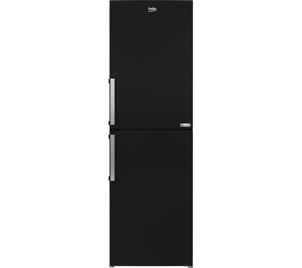 BEKO HarvestFresh CFP3691VB 50/50 Fridge Freezer - Black, Black