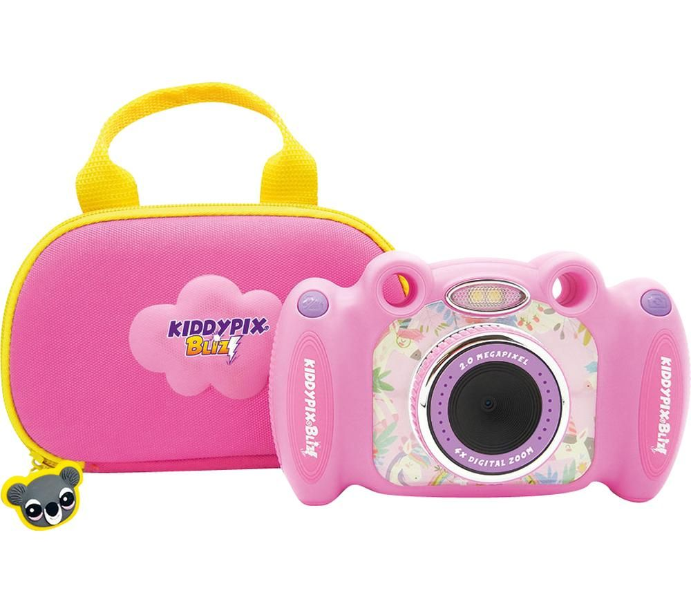 Click to view product details and reviews for Easypix Kiddypix Blizz Compact Camera Pink Pink.