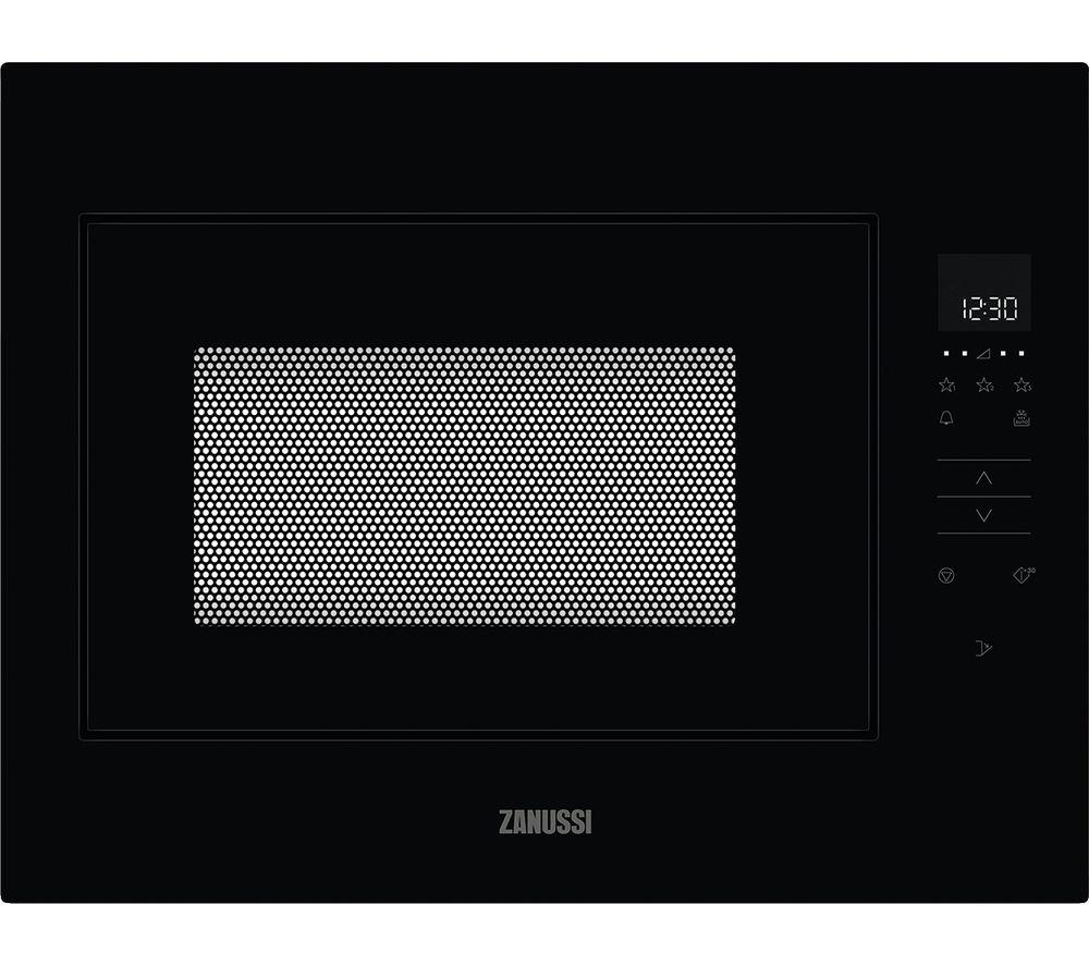 ZANUSSI ZMBN4SK Built-in Solo Microwave - Black