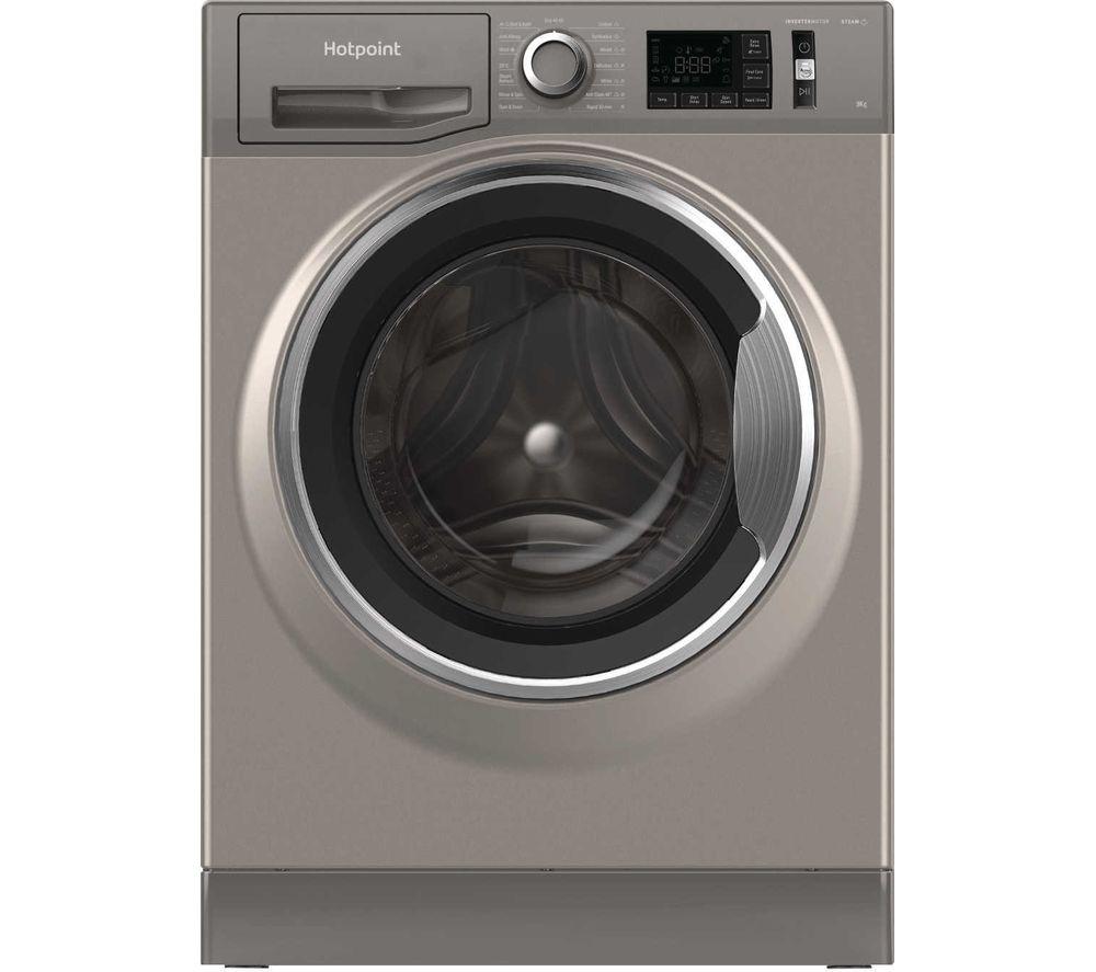 HOTPOINT Activecare NM11 945 GC UK N 9 kg 1400 Spin Washing Machine - Graphite