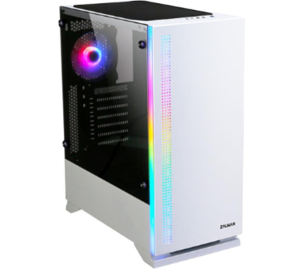 ZALMAN S5 ATX Tower PC Case - White