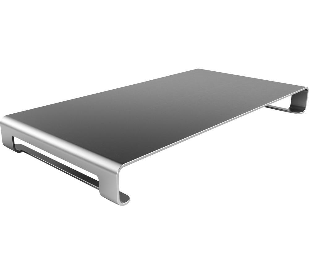 Image of SATECHI B019PJOHKA Aluminium Universal Unibody Monitor Stand - Dark Grey, Grey