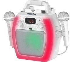 AVS1493 Bluetooth Karaoke System - White
