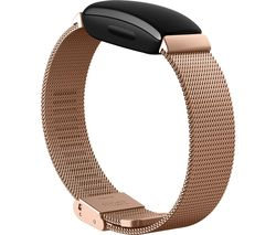 Inspire Stainless Steel Mesh Band - Rose Gold