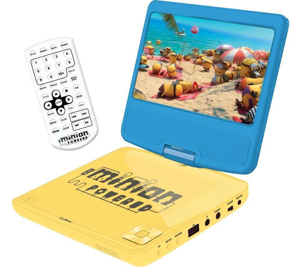 LEXIBOOK DVDP6DES Portable DVD Player - Despicable Me