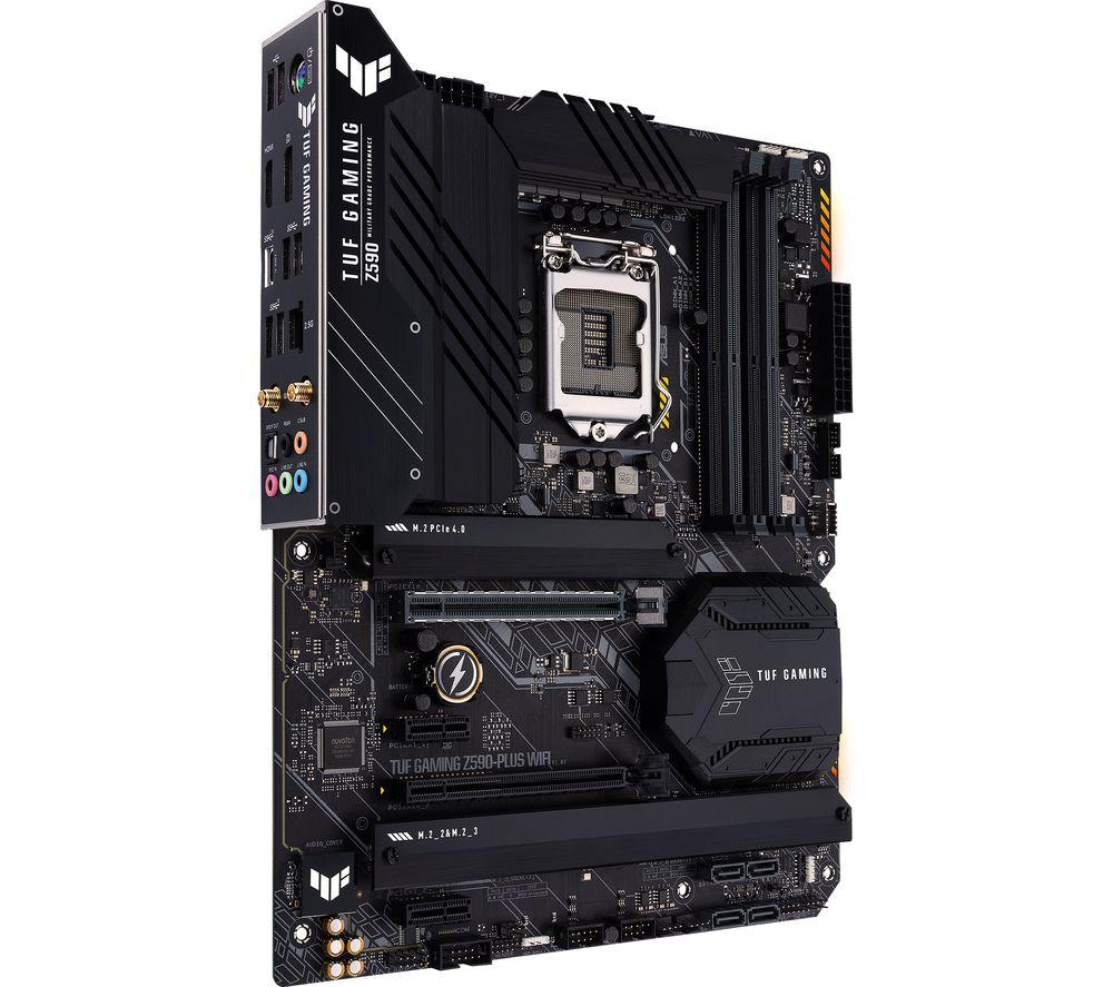 Image of ASUS TUF GAMING Z590-PLUS WIFI LGA1200 Motherboard