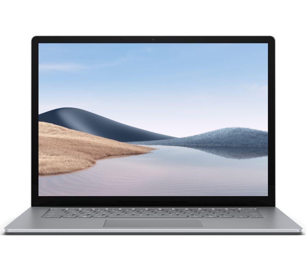 "MICROSOFT 15"" Surface Laptop 4 - AMD Ryzen 7, 256 GB SSD, Platinum"