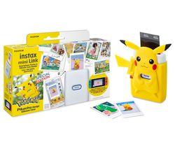 mini Link Photo Printer & Pikachu Case Bundle