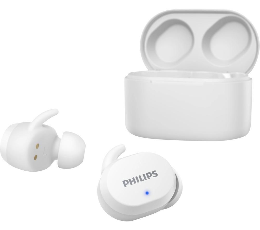 PHILIPS TAT3216WT Wireless Bluetooth Earphones - White