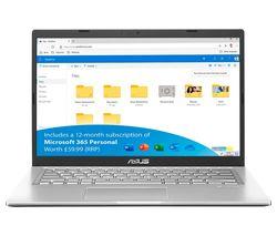 "VivoBook R465JA 14"" Laptop - Intel® Core™ i3, 128 GB SSD, Silver"