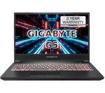 £849, GIGABYTE G5 15.6inch Gaming Laptop - Intel® Core™ i5, RTX 3050 Ti, 512 GB SSD, Intel® Core™ i5-11400H Processor, RAM: 16GB / Storage: 512GB SSD, Graphics: NVIDIA GeForce RTX 3050 Ti 4GB, Full HD screen / 144 Hz, Battery life:Up to 4 hours,