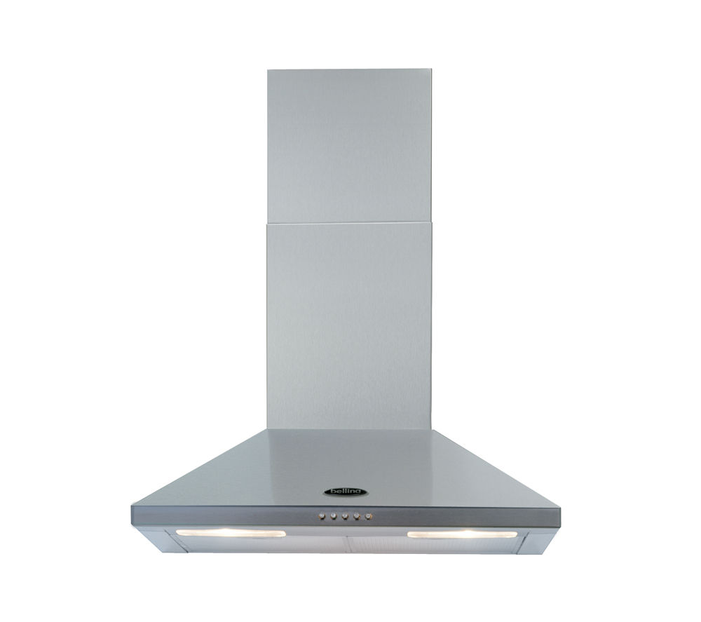 BELLING 60CHIM Chimney Cooker Hood - Stainless Steel
