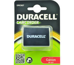 DURACELL DRC827 Lithium-ion Rechargeable Camcorder Battery