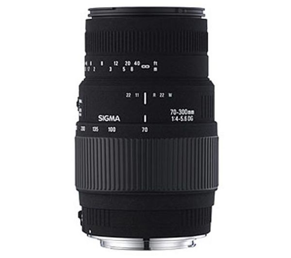 SIGMA 70-300 mm f/4-5.6 DG Macro Telephoto Zoom Lens - for Nikon + DSLR Cleaning Kit