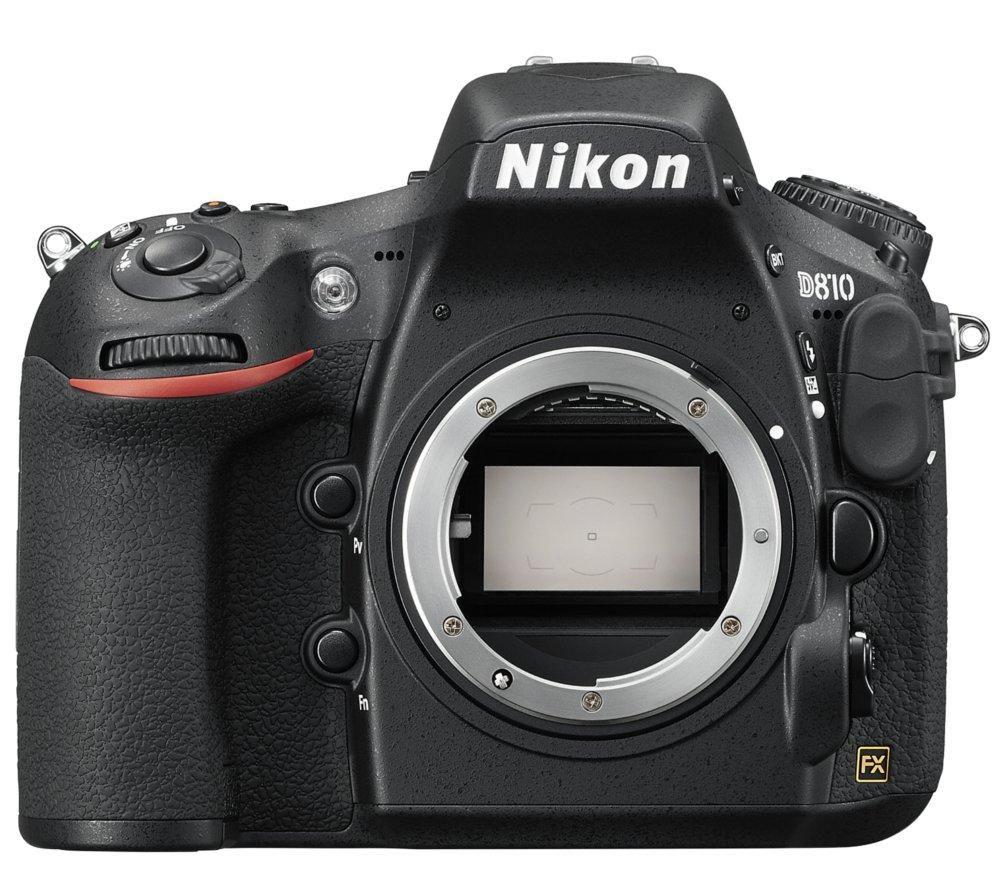 NIKON D810 DSLR Camera - Black, Body Only