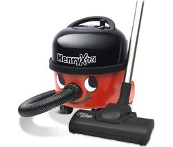 NUMATIC Henry Xtra Hoover HVX200-A2 Cylinder Vacuum Cleaner - Red