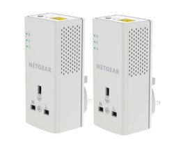 NETGEAR PLP1200 Powerline Adapter Kit - Twin Pack