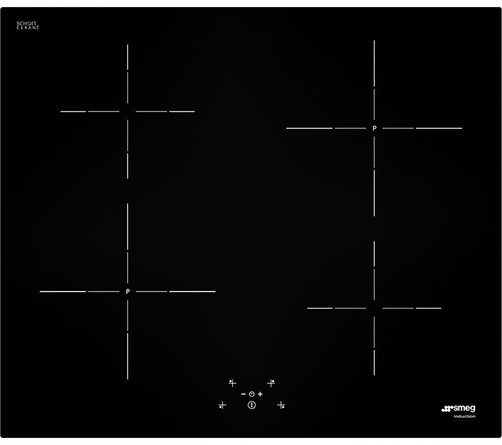SMEG SI5641D Electric Induction Hob - Black