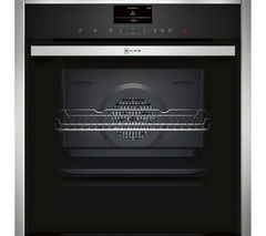 NEFF B57VS24N0B Slide and Hide Electric Oven - Stainless Steel