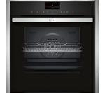 NEFF B57VS24N0B Slide & Hide Electric Oven - Stainless Steel