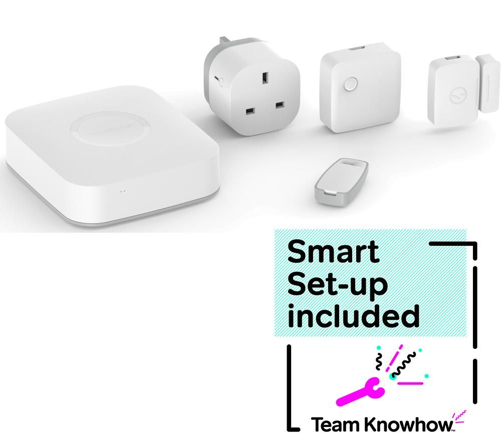 KNOWHOW SmartThings Starter Kit & Smart Home Installation Bundle
