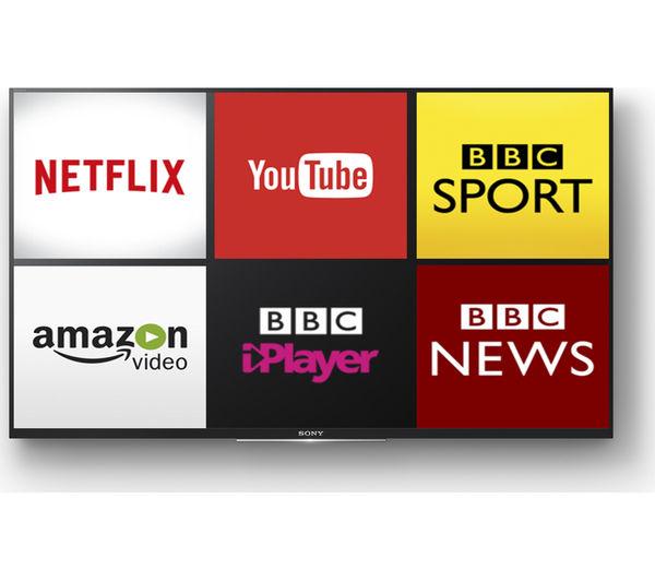 Buy Sony Bravia Kdl32wd754bu Smart 32 Quot Led Tv Free