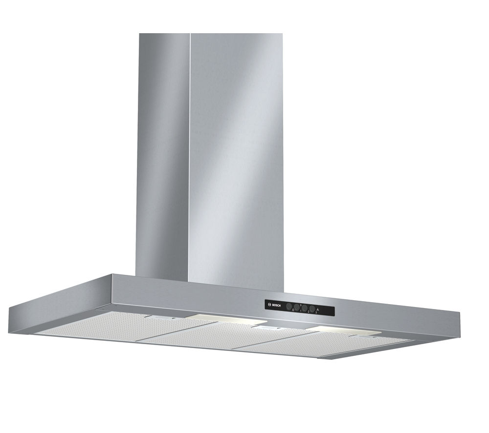 BOSCH DWB09W452B Chimney Cooker Hood - Stainless Steel