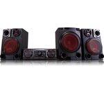 LG LOUDR CM8460 Wireless Megasound Hi-Fi System - Black