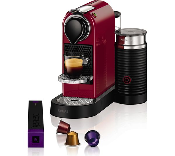 buy nespresso by krups citiz milk xn760540 coffee. Black Bedroom Furniture Sets. Home Design Ideas