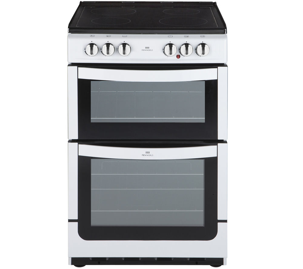 NEW WORLD NW551ETC 55 cm Electric Cooker - White